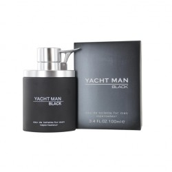 YACHT MAN BLACK EDT 100 ML