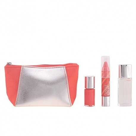 CLINIQUE HAPPINESS IN COLOUR (HAPPY 7 ML+ LACA UÑAS + CHUBBY LIP 1.5 GR. + NECESER)