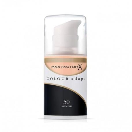 MAX FACTOR COLOUR ADAPT FOUNDATION 50 PORCELAIN 34 ML
