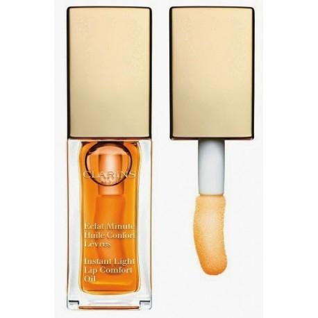 CLARINS ECLAT MINUTE HUILE CONFORT LEVRES 01 HONEY 7 ML danaperfumerias.com