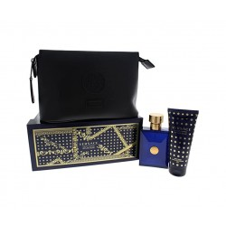 comprar perfumes online hombre VERSACE DYLAN BLUE EDT 100 ML + SHOWER GEL 100 ML + NECESER SET REGALO