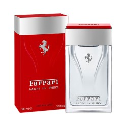 FERRARI MAN IN RED AFTERSHAVE 100 ML