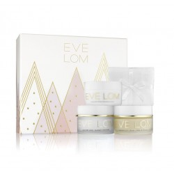 EVE LOM HOLIDAY YOUTHFUL RADIANCE (CLEANSER 50 ML + RADIANCE LIFT 50 ML + MASK 50 ML + MUSLIN) SET REGALO