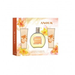 ANOUK EDT 100 ML + LOCION CORPORAL 75 ML + GEL DUCHA 75 ML SET REGALO