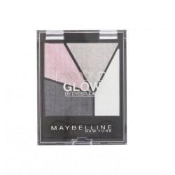 MAYBELLINE QUAD DIAMOND GLOW GREY PINK DRAMA 04 4G