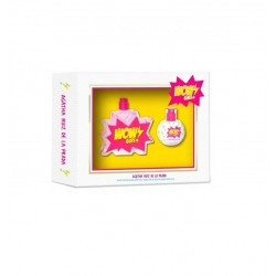 AGATHA RUIZ DE LA PRADA WOW GIRL EDT 50 ML + MINI EDT 30 ML SET REGALO