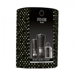 AXE BLACK DESODORANTE 150ML+ GEL 250ML + AFTER SHAVE 100ML SET REGALO