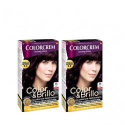COLORCREM COLOR & BRILLO TINTE CAPILAR 46 VIOLIN x 2 UDS