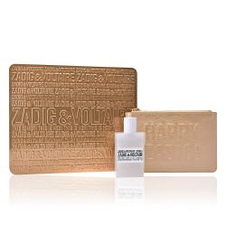 ZADIG & VOLTAIRE THIS IS HER EDP 50 ml + CARTERA Z&V SET REGALO