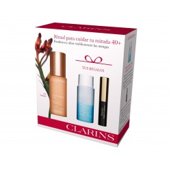 CLARINS EXTRA FIRMING YEUX CONTORNO OJOS 15ML + DESMAQUILLANTE OJOS 30 ML + MINI MÁSCARA 3 ML SET REGALO
