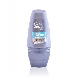DOVE DESODORANTE HOMBRE CLEAN COMFORT ROLL ON 50 ML