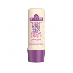 AUSSIE 3 MINUTE MIRACLE SCENT-SATIONAL SMOOTH TRATAMIENTO CABELLOS REBELDES 250 ML