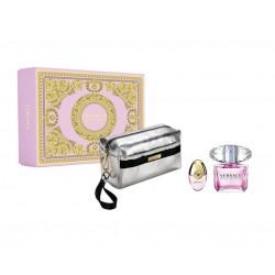 comprar perfumes online VERSACE BRIGHT CRYSTAL EDT 90 ML VP + 10ML VP + NECESER SET REGALO mujer