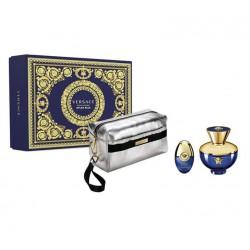comprar perfumes online VERSACE DYLAN BLUE FEMME EDP 100 ML + EDP 10ML VP + NECESER mujer