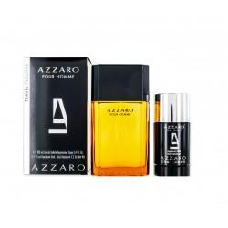 AZZARO POUR HOMME EDT 100 ML + DEO STICK 75 ML TRAVEL SET REGALO
