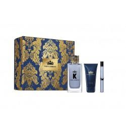 comprar perfumes online hombre DOLCE & GABBANA K POUR HOMME EDT 100 ML + MINI 10 + SHOWER GEL 50 ML SET REGALO