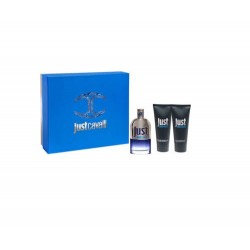 comprar perfumes online hombre ROBERTO CAVALLI JUST CAVALLI MAN EDT 90 ML + SHOER GEL 75 ML + AFTER SHAVE 75 ML SET REGALO