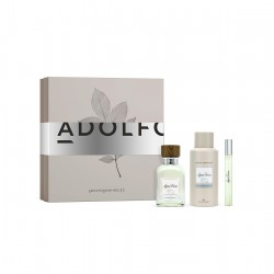 comprar perfumes online hombre ADOLFO DOMINGUEZ AGUA FRESCA EDT 120 ML + MINI + DESODORANTE SPRAY 150 ML SET REGALO