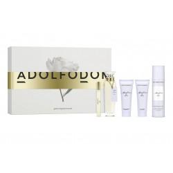 comprar perfumes online ADOLFO DOMINGUEZ AGUA FRESCA DE ROSAS EDT 120 ML + MINI 10 ML + B/L 75 ML + DEO 150 ML SET REGALO mujer