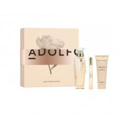 comprar perfumes online ADOLFO DOMINGUEZ AGUA FRESCA DE ROSAS BLANCAS EDT 120 ML + MINI 10 ML + B/L 75 ML SET REGALO mujer