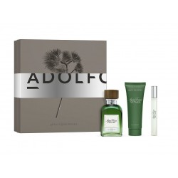 comprar perfumes online hombre ADOLFO DOMINGUEZ AGUA FRESCA VETIVER EDT 120 ML + MINI 10 ML + SHOWER GEL 75 ML SET REGALO