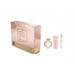 comprar perfumes online PACO RABANNE OLYMPEA EDP 50 ML + MINI 10 ML + BODY MILK 75 ML SET REGALO mujer
