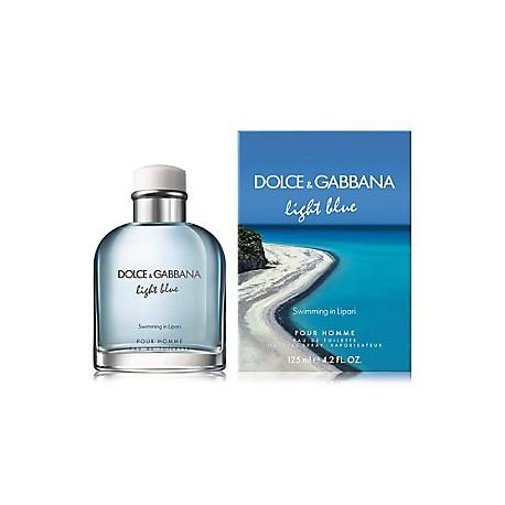 comprar perfumes online hombre DOLCE & GABBANA LIGHT BLUE SWIMMING IN LIPARI EDT 125 ML VP.