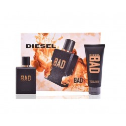 comprar perfumes online hombre DIESEL BAD EDT 75 ML + SHOWER GEL 100 ML SET REGALO