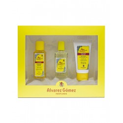 comprar perfumes online ALVAREZ GOMEZ AGUA DE COLONIA CONCENTRADA 80 ML + BODY LOTION 75ML + SHOWER GEL 90 ML SET REGALO mujer