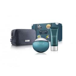 comprar perfumes online hombre BVLGARI AQVA POUR HOMME EDT 100 ML + AFTER SHAVE BALM 100 ML + NECESER SET REGALO