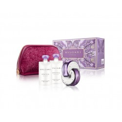 comprar perfumes online BVLGARI OMNIA AMETHYSTE EDT 65 ML + BODY LOTION 2 X 75 ML + NECESER SET REGALO mujer