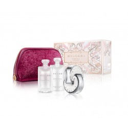 comprar perfumes online BVLGARI OMNIA CRYSTALLINE EDT 65 ML + BODY LOTION 75 ML + SHOWER GEL 75 ML + NECESER SET REGALO mujer