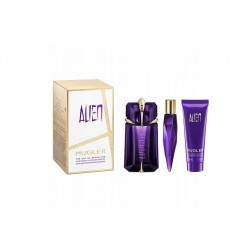 comprar perfumes online THIERRY MUGLER ALIEN EDP 60 ML + MINIATURA RECARGABLE 10 ML + BODY LOTION 50 ML SET mujer