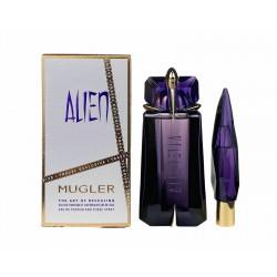 comprar perfumes online THIERRY MUGLER ALIEN EDP 90 ML VP. REC. + MINIATURA 10 ML SET mujer
