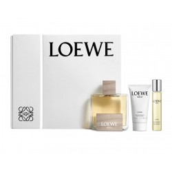 comprar perfumes online hombre LOEWE SOLO LOEWE CEDRO EDT 100ML + EDT 20ML + AFTER SHAVE BÁLSAMO 50ML SET REGALO