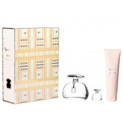 comprar perfumes online TOUS LUMINOUS GOLD EDT 100 ML + B/L 150 ML + MINI 4 ML mujer