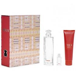 comprar perfumes online TOUS EDT 90 ML VP +BODY LOCION 150 ML + EDT MINIATURA 4 ML SET REGALO mujer