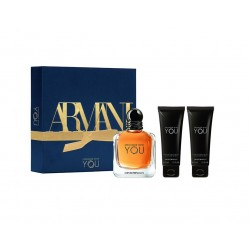 comprar perfumes online hombre EMPORIO ARMANI STRONGER WITH YOU EDT 100 ML + SHOWER GEL 2 X 75 ML SET REGALO