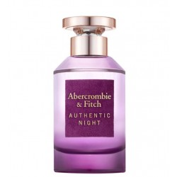 comprar perfumes online ABERCROMBIE & FITCH AUTHENTIC NIGHT WOMAN EDP 100 ML mujer