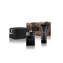 comprar perfumes online hombre BVLGARI MAN IN BLACK EDP 100 ML + AFTER SHAVE BALM 100 ML + NECESER SET REGALO