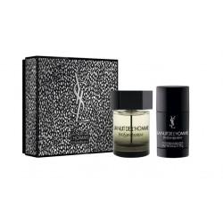 comprar perfumes online hombre YSL LA NUIT DE L´HOMME EDT 100 ML + DEO STICK 75 ML SET REGALO