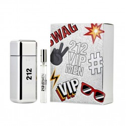 comprar perfumes online hombre CAROLINA HERRERA 212 VIP MEN EDT 100 ML VP. + EDT 10 ML VP