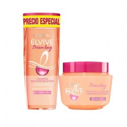 Comprar champu L'OREAL ELVIVE DREAM LONG CHAMPU 250ML + MASCARILLA 300 ML
