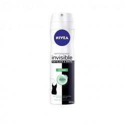 NIVEA BLACK AND WHITE INVISIBLE ACTIVE DESODORANTE SPRAY 200 ML
