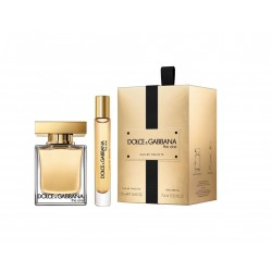 comprar perfumes online DOLCE & GABBANA THE ONE EDT 50 + ROLLERBALL 7.4 ML SET REGALO mujer