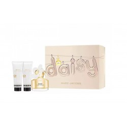 comprar perfumes online MARC JACOBS DAISY EDT 50 ML + BODY LOCION 75 ML + SHOWER GEL 75 ML SET REGALO mujer