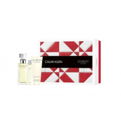 comprar perfumes online CALVIN KLEIN CK ETERNITY WOMAN EDP 100 ML + MINI 10 ML + BODY LOTION 100 ML SET REGALO mujer