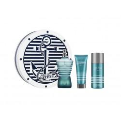 comprar perfumes online hombre JEAN PAUL GAULTIER JPG LE MALE EDT 125 ML + DEO 150 ML + GEL 75 ML SET REGALO