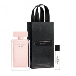comprar perfumes online NARCISO RODRIGUEZ FOR HER EDP 100 ML + PURE MUSC EDP 10 ML SET REGALO mujer