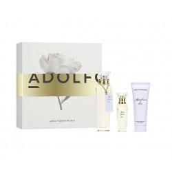 comprar perfumes online ADOLFO DOMINGUEZ AGUA FRESCA DE ROSAS EDT 120 ML + EDT 30 ML + B/L 75 ML SET REGALO mujer